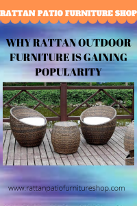 Why Rattan Outdoor Furniture Is Gaining Popularity